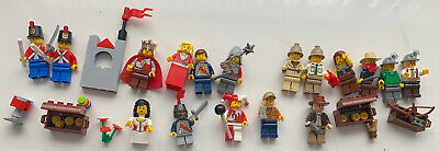 £0.99 • Buy LEGO Bundle Joblot Of Assorted Mini Figures - Some Rare With Some Accessories.
