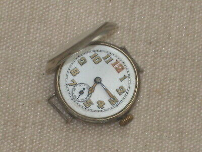 £19.99 • Buy Antique Silver WW1 Trench Watch For Spares Or Repair