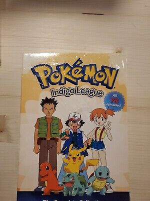$46 • Buy Pokemon: Indigo League - The Complete Collection (DVD) Sealed -