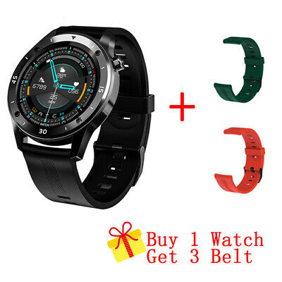 AU36.99 • Buy Smart Watch Heart Rate Blood Pressure Fitness Tracker Pedometer For Android IOS