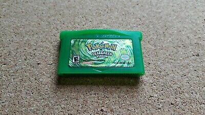 $75 • Buy AUTHENTIC Original Pokemon Leaf Green GBA Saves Tested Excellent Condition