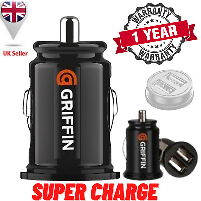 £2.59 • Buy USB Car Charger 12V Dual USB Charging Mini Adapter For Galaxy S10 IPhone12 X