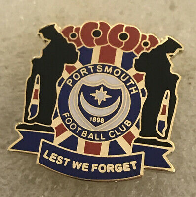 £4.99 • Buy Very Rare Portsmouth Supporter Enamel Badge - Very Smart - Wear With Pride!