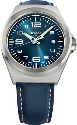 £203.95 • Buy Traser H3 P59 Essential M Blue Men's Watch 108214 Analogue Leather Blue