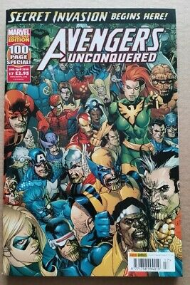 £2.14 • Buy Avengers Unconquered Issue 17, Secret Invasion, Captain America, Scarlet Witch