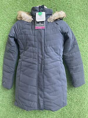 £22.99 • Buy New Craghoppers Womens Outdoor Winter Liesl Jacket Size 12 Charcoal
