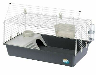 £48.79 • Buy Ferplast Indoor Rabbit Cage 100 Guinea Pig House Plastic Tray Easy Clean Bottle