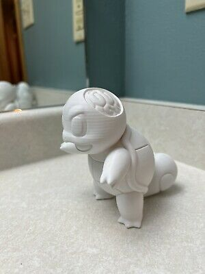 $30 • Buy 3D Printed And Hand-painted Spooky Squirtle Pokemon