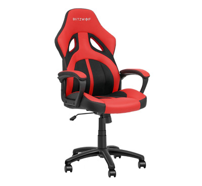 AU70 • Buy BlitzWolf BW-GC3 Racing Style Gaming Chair PU + Mesh Material Streamlined Design