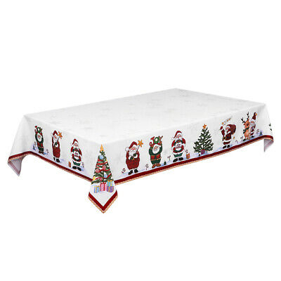AU22.99 • Buy New Year Christmas Tablecloth Kitchen Dining Table Decorations Table Cover