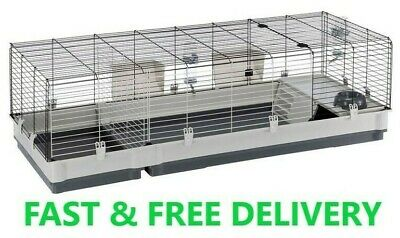 £83.89 • Buy Ferplast Plaza 160cm Indoor Rabbit Cage Small Pet Guinea Pig House Easy Clean