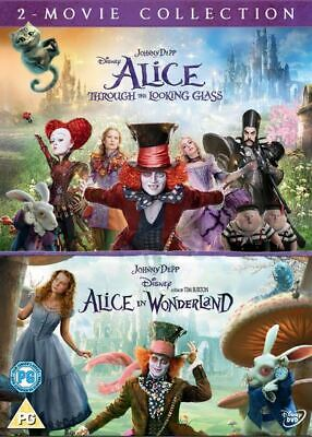 £5.94 • Buy Alice In Wonderland/Alice Through The Looking Glass DVD USED