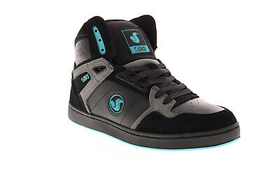 AU96.41 • Buy DVS Honcho DVF0000333001 Mens Black Suede Skate Inspired Trainers Shoes