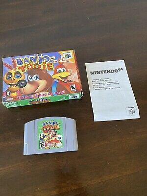 £130.51 • Buy Banjo-Tooie (Nintendo 64, N64) Box And Cartridge Tested And Authentic