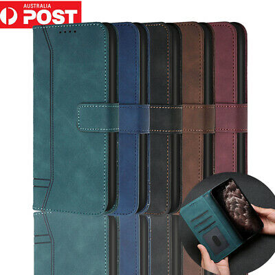 AU12.99 • Buy For OPPO A53S A91 A15 A72 A9 A5 2020 Case Leather Wallet Magnetic Cover
