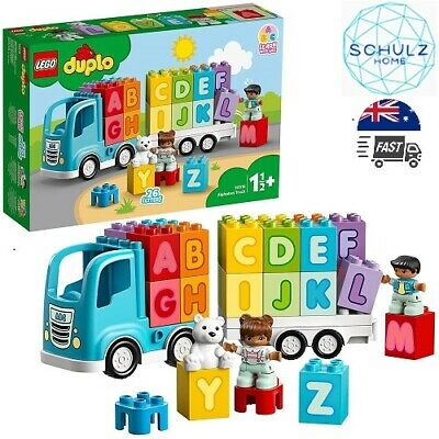 AU35.49 • Buy LEGO DUPLO My First Alphabet Truck 10915 ABC Letters Learning Toy For Toddlers