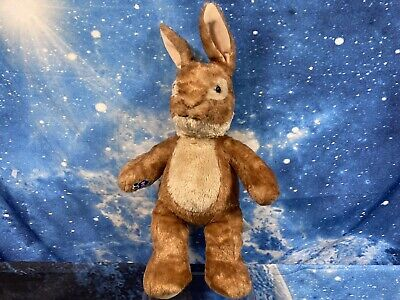 £10.99 • Buy Build A Bear Peter Rabbit BAB Rare Bunny Rabbit Brown Blue Collectable Soft Toy