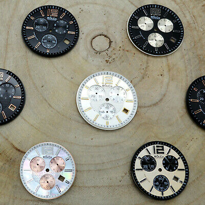 £4.99 • Buy Joblot R&Co Rotary Chronograph Watch Dials PARTS SPARES REPAIR STEAMPUNK [007]