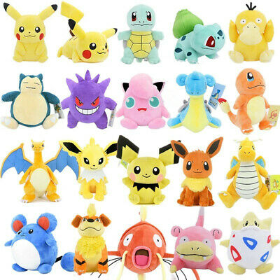 £6.99 • Buy Kids Collectible Pokemon Plush Character Soft Toy Stuffed Doll Teddy Gift 2021