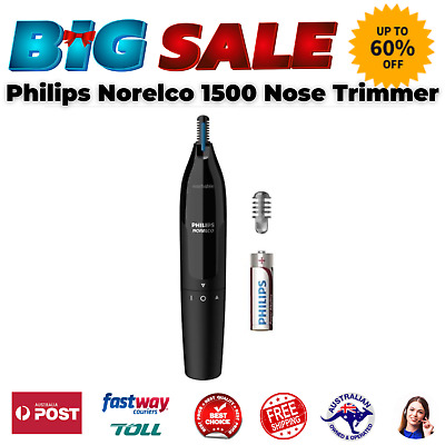 AU26.01 • Buy Washable Design Ultimate Dual Sided Steel Blade Philips Norelco1500 Nose Trimmer