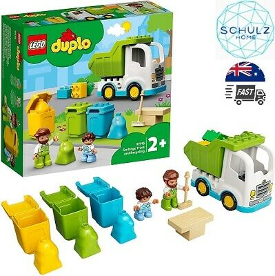 AU27.68 • Buy LEGO 10945 DUPLO Town Garbage Truck And Recycling Educational  Toy Age 2 +