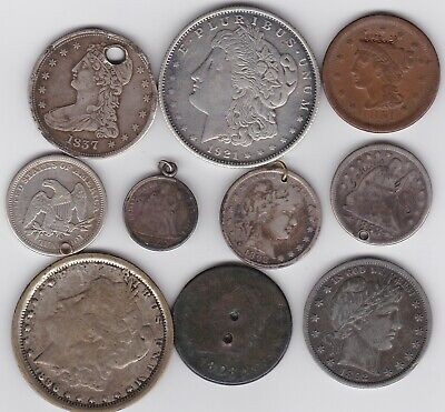AU18.53 • Buy 10 Usa Error Coins & Oddments In A Used Condition.