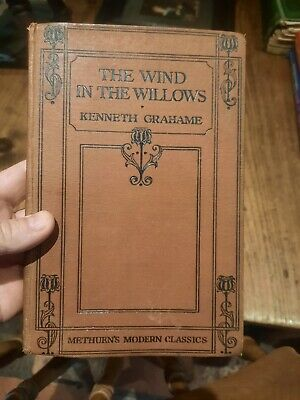 £10 • Buy The Wind In The Willows Kenneth Grahame Hardback Methuen 1934
