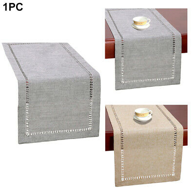 AU16.10 • Buy Daily Solid Table Runner Dining Tabletop Home Decor Furniture Protection Wedding