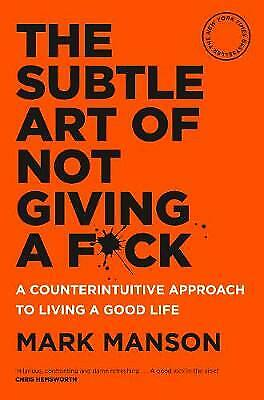 AU24.30 • Buy The Subtle Art Of Not Giving A F*ck - BRAND NEW - PAPERBACK