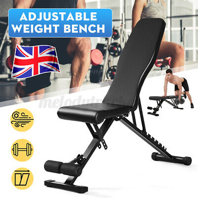 £39.85 • Buy  Foldable Adjustable Weight Dumbbell Bench Workout Exercise Bench Gym Home Use
