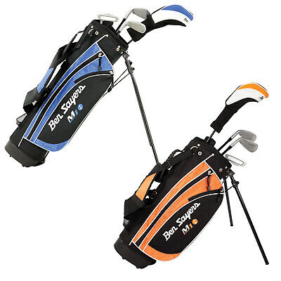 AU166.81 • Buy 2021 Ben Sayers Junior M1i Package Full Set Kid Youth Golf Clubs Stand Bag Strap