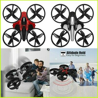 AU29.88 • Buy 3D Mini Drone For Beginner Kids Gift Flip Headless Indoor Small Helicopter Plane