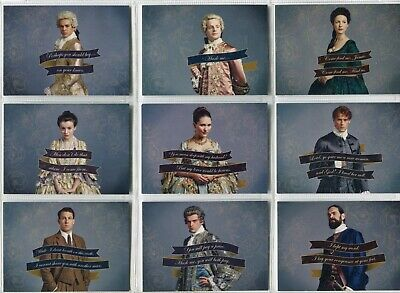 AU1.33 • Buy Outlander Season 2 Complete 9 Card Chase Set Quotes
