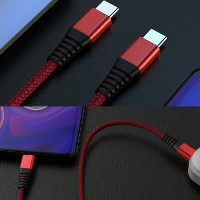 AU2.86 • Buy Usb C To Usb C Chaging Cable Fast PD Type C Cord For Macbook Huawei Samsung AU.