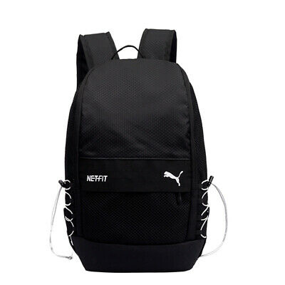 AU39.95 • Buy Puma Net Synthetic Light Weight Travel Bag Casual Backpack - Black