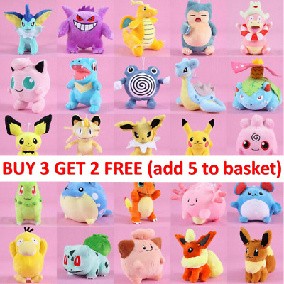 £7.49 • Buy XMAS Rare Pokemon Collectible Plush Doll Character Soft Toy Stuffed Teddy Gift