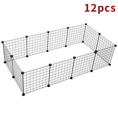 £18.99 • Buy 12 Panel Foldable Pet Play Pen Puppy Dog Animal Cage Run Fence Exercise Playpen