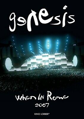 £21.18 • Buy Genesis When In Rome 2007 (Tony Banks Phil Collins Mike Rutherford) DVD