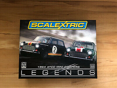 £90 • Buy Scalextric C3586A 1964 ATCC Mini Coopers Limited Edition - USED (MINT)