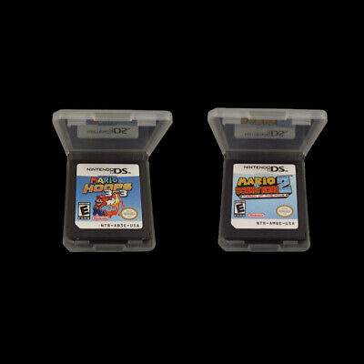 AU31.72 • Buy Mario Vs. Donkey Kong 2: March Of The Minis, Mario Hoops 3-on-3 Nintendo DS