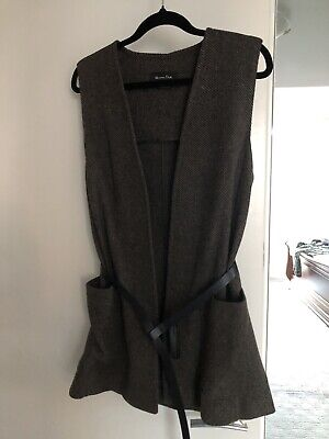 AU40 • Buy Massimo Dutti Belted Wool Vest