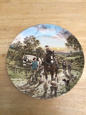 £5 • Buy Wedgewood - Life On The Farm Series - End Of The Day Limited Edition