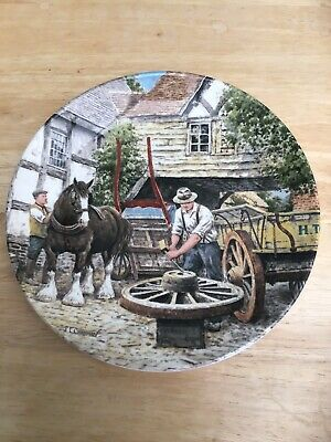 £5 • Buy Wedgewood - Life On The Farm Series - The Wheelwright. Limited Edition