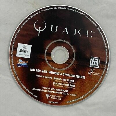 AU30 • Buy [11485] Vintage Video Game: Quake - CD-ROM For PC - Roadshow Interactive.