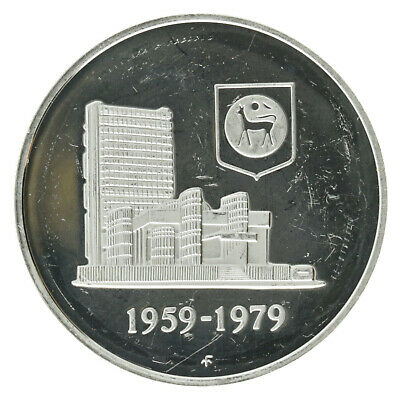£10.20 • Buy Malaysia - Silver 1 Ringgit Coin - 'National Bank' - 1979 - Proof