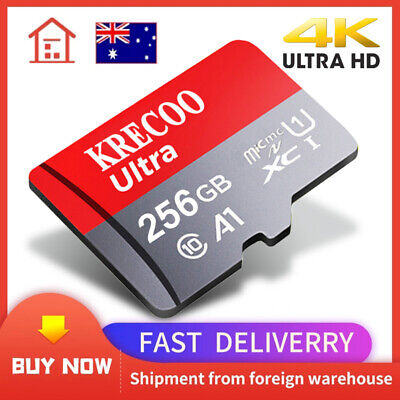 AU4.59 • Buy Ultra Micro SD Card 128GB 64GB 256G Extreme Pro Mobile Phone Tablet Class10 A1