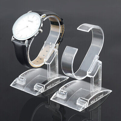 £5.77 • Buy Clear Acrylic Watch Bracelet Display Holder Rack Stand Retail Shop Showcase S L