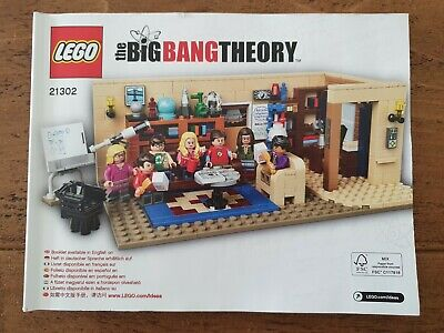 £79 • Buy Lego Ideas Big Bang Theory 21302. Complete Set With Box And Instructions.