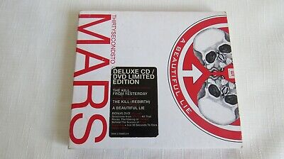 £2 • Buy 30 Seconds To Mars - A Beautiful Lie Digipak Cd Album - Deluxe Edition With Dvd