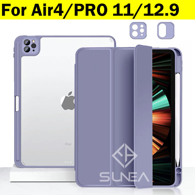 AU34.95 • Buy For IPad Pro 12.9 11 Case 2021 2020 5th 4th Gen Smart Cover Stand Pen Holder